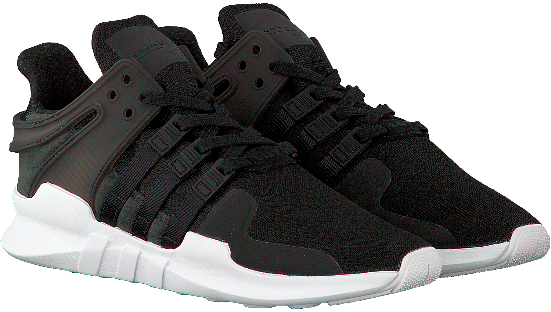 Zwarte ADIDAS Sneakers EQT SUPPORT ADV HEREN | Omoda