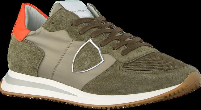Groene PHILIPPE MODEL Lage sneakers TRPX L U  - large