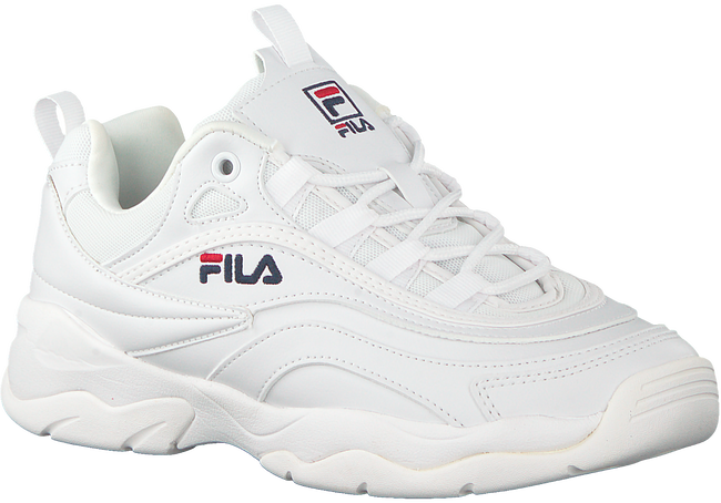 Witte FILA Sneakers RAY LOW WMN  - large