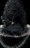 Zwarte MOU Vachtlaarzen ESKIMO DREAM CATCHER LACE UP&FUR - small