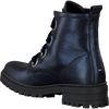 Blauwe TOMMY HILFIGER Veterboots METALLIC CLEATED LACE UP BOOT - small