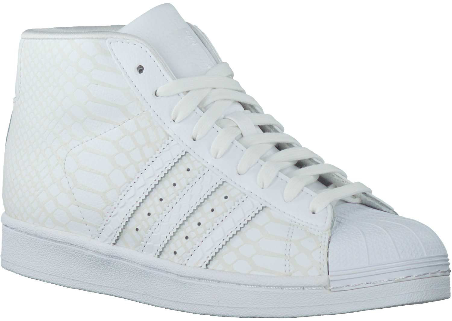 Witte ADIDAS Sneakers PRO MODEL DAMES Omoda.nl