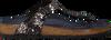 Zwarte BIRKENSTOCK PAPILLIO Slippers GIZEH METALLIC STONES  - small