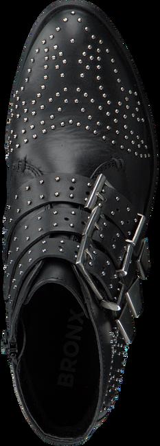 Zwarte BRONX Enkellaarsjes 43771  - large
