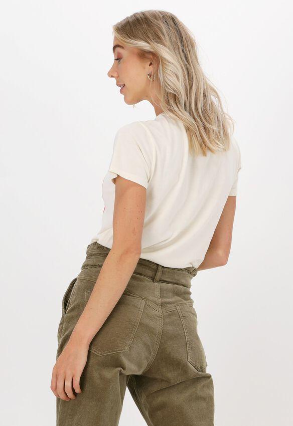 Gebroken wit LEON & HARRPER T-shirt TORO JC05 ONE  - larger