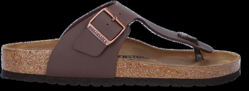 Bruine BIRKENSTOCK Slippers RAMSES BF DUNKELBRAUN REGULAR  - larger
