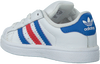 Witte ADIDAS Sneakers SUPERSTAR KIDS 1  - small