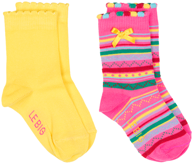 LE BIG SOKKEN JIVA SOCK 2-PACK - large