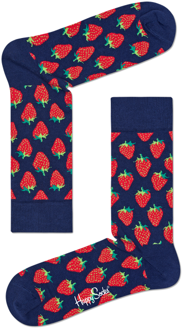 HAPPY SOCKS SOKKEN STRAWBERRY - large