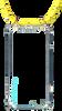 Gele KASCHA-C Telefoonkoord PHONECORD IPHONE 6/6S  - small