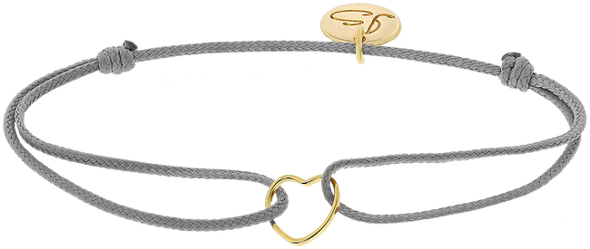 Grijze JEWELLERY BY SOPHIE Armband MY EVERYDAY HEART - large
