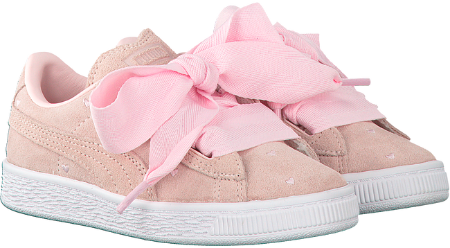 PUMA SNEAKERS SUEDE HEART VALENTINE IN - large