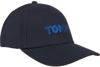 Blauwe TOMMY HILFIGER Pet TOMMY PATCH CAP  - medium