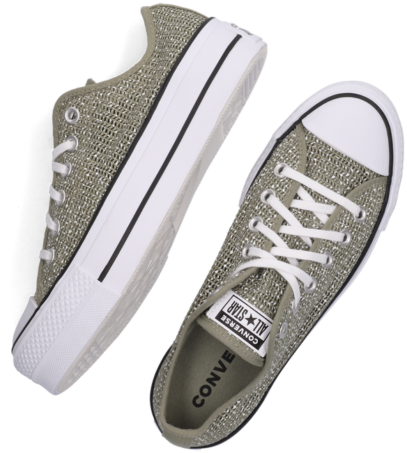Groene CONVERSE Lage sneakers CHUCK TAYLOR ALL STAR LIFT OX  - large
