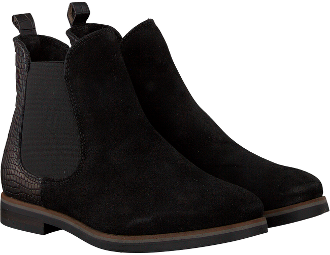Zwarte OMODA Chelsea boots 54A005 - large
