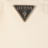 Witte GUESS Handtas ARETHA GIRLFRIEND SATCHEL - small