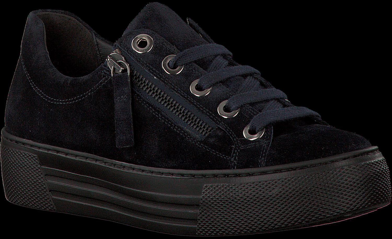 Gabor Chaussures De Sport Bleu 468 JI80u