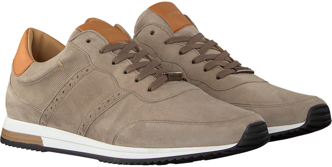 Taupe MAZZELTOV Lage sneakers 20-9928  - large