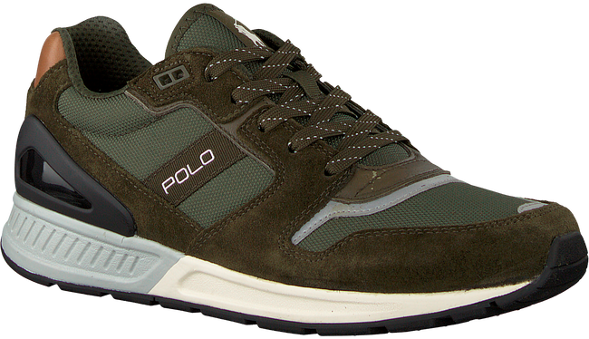 Groene POLO RALPH LAUREN Sneakers TRAIN100  - large