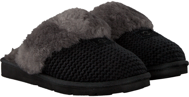 Zwarte UGG Pantoffels COZY KNIT SLIPPER - large