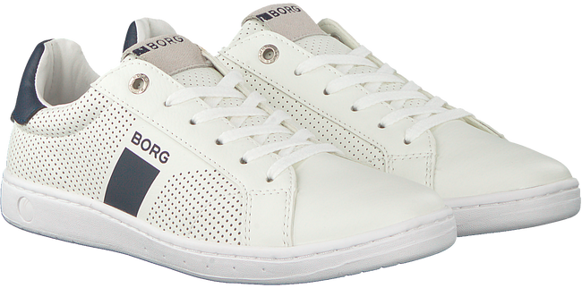 Witte BJORN BORG Sneakers T307 LOW PRF T  - large