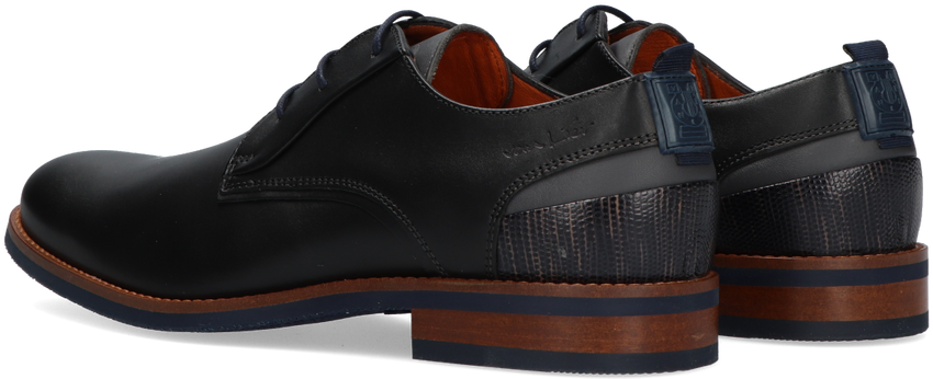 Zwarte VAN LIER Nette schoenen SABINUS  - larger