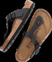 Zwarte BIRKENSTOCK PAPILLIO Slippers GIZEH  - medium