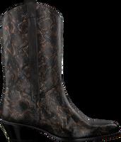 Zwarte FLORIS VAN BOMMEL Lange laarzen 85669 - medium