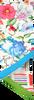 Witte ROMANO SHAWLS AMSTERDAM Sjaal TUBILAIR FLOWER  - small
