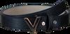 Blauwe VALENTINO HANDBAGS Riem MARILYN PLAQUE BUCKLE BELT - small