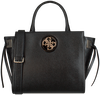 Zwarte GUESS Handtas OPEN ROAD SOCIETY SATCHEL  - small