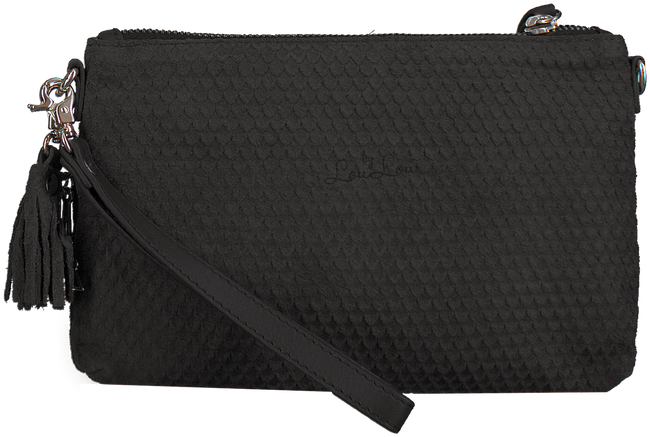 Zwarte BY LOULOU Clutch 01POUCH101S - large