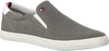 Grijze TOMMY HILFIGER Slip-on sneakers  ESSENTIAL SLIP ON SNEAKER  - small