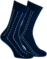 Blauwe MARCMARCS Sokken CAMIEL  - medium
