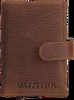 Bruine MAZZELTOV Portemonnee 18294  - medium