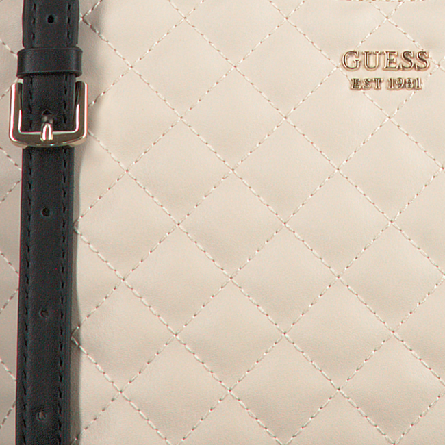 Beige GUESS Shopper MIRIAM SMALL SHOPPER  - large