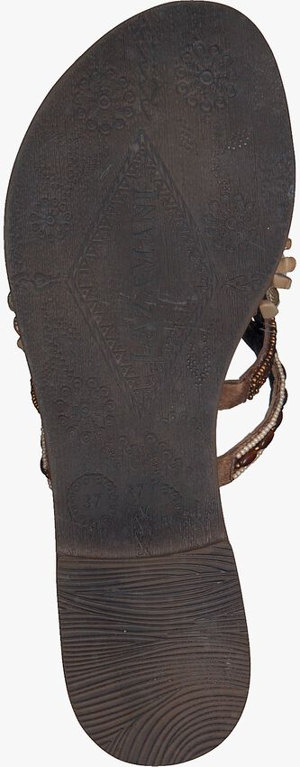 Taupe LAZAMANI Slippers 75.704  - larger