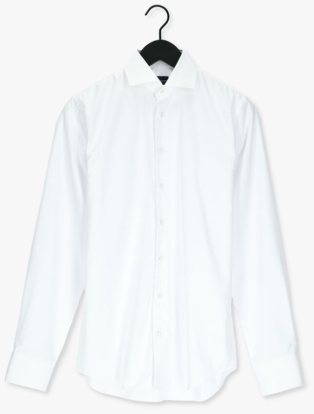 Witte PROFUOMO Casual overhemd HUX  - larger