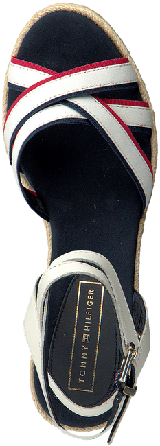 Witte TOMMY HILFIGER Sandalen ICONIC ELBA CORPORATE  - large