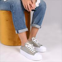 4c7023fa284 Grijze CONVERSE Sneakers CHUCK TAYLOR ALL STAR LIFT - medium