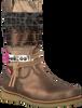 Bronzen SHOESME Lange laarzen CR7W092  - small