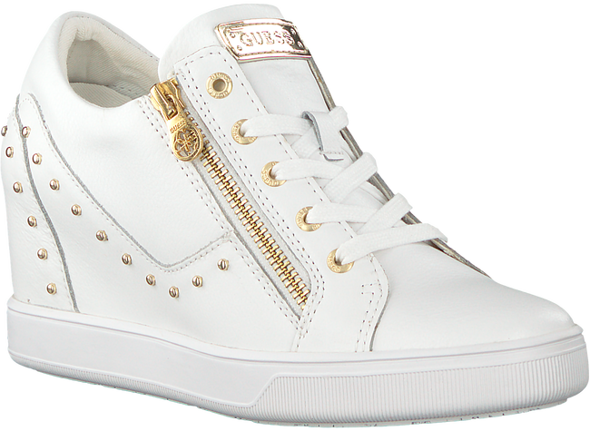 Witte GUESS Sneakers FLNNA1 LEA12 - large