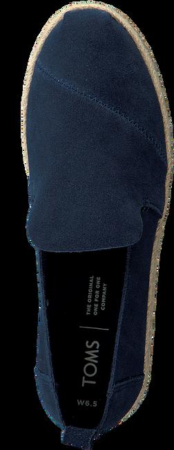 Blauwe TOMS Espadrilles DECONSTRUCTED ALPARGATA ROPE W - large