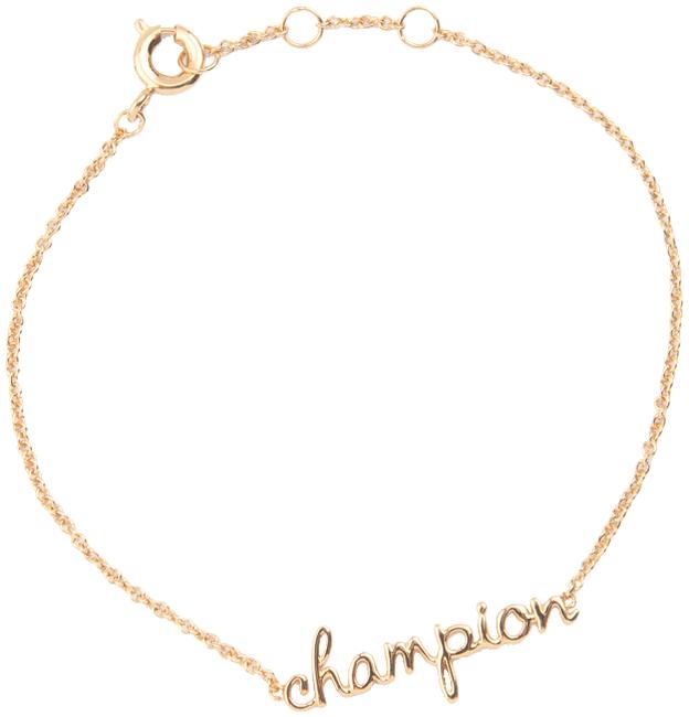 Gouden ALLTHELUCKINTHEWORLD Armband URBAN BRACELET CHAMPION - large