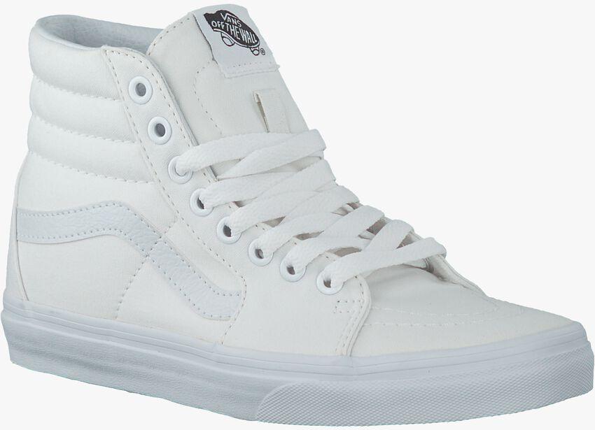 Witte VANS Sneakers SK8-HI WOMEN  - larger