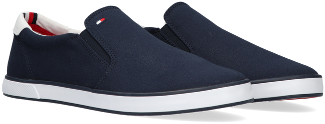 Blauwe TOMMY HILFIGER Instappers ICONIC SLIP ON - large