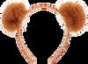 Bruine LE BIG Haarband TRUUS HEADBAND - small