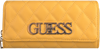 Gele GUESS Portemonnee SWEET CANDY SLG - small