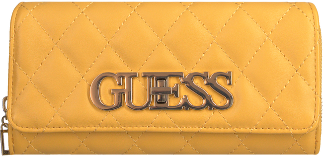 Gele GUESS Portemonnee SWEET CANDY SLG - large