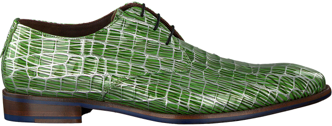 Groene FLORIS VAN BOMMEL Nette schoenen 14104 - large